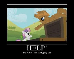 My Little Pony MLP FiM Motivational Poster by WithinTheCosmos