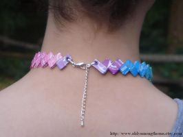 starburst wrapper necklace by downquark
