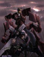 Vash and Nick by spyders