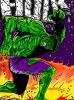 THE INCREDIBLE HULK by Lpsalsaman
