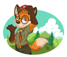 Kip Fox by pandapaco