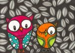 owls by designgirl2