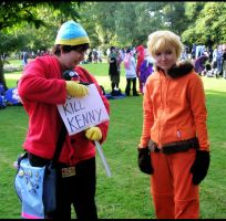 South Park - Cartman vs Kenny by XMenouX