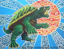 Gamera by asamamoru