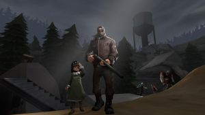 The Walking Mercs (Early Version) by googlygazer