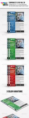 Corporate Flyer Template Vol 28 by jasonmendes