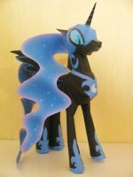 My Little Pony FIM Papercraft - Nightmare Moon by x0xChelseax0x