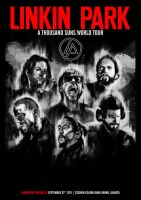 Linkin Park Poster by Toolkit04