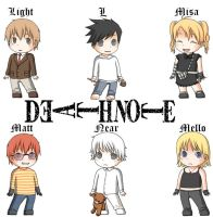 Deathnote Babies by zb5766