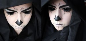 Angel of Death Makeup by SelyaMakeup