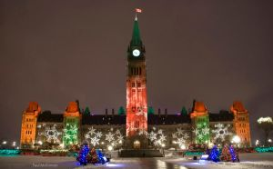 Merry Christmas From Canada by PaulMcKinnon