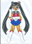 Ethnic Sailor Moon: South Asia by animequeen20012003