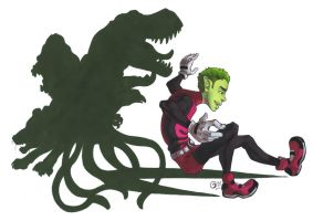 TT: Beast Boy by JaDisArt