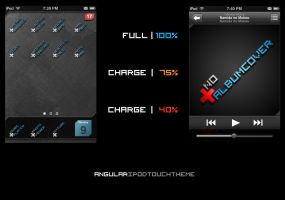 'Angular' iPod touch theme by ThunderBreak