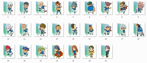 Inazuma Japan Folder Icons by Ginokami6