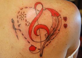 Music Heart by NateTheKnife