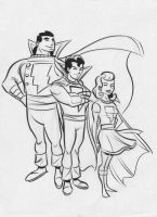 Marvel Family by dfridolfs
