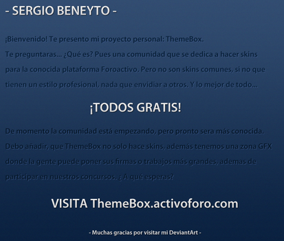ThemeBox by Beneyto93