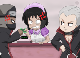 Naruto+Chibis:Dont want to pay by The-PirateQueen