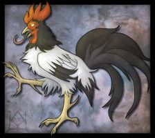 Rooster Rampant by khyterra