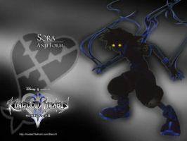 Sora: Shadow-Anti Form by DarkElements10