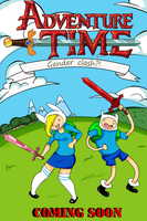 Adventure Time Cover Page (Coming Soon) by PrntScr