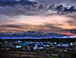my small village by delfalge