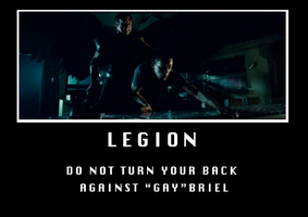 Legion Demotivator by Shortified