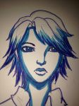 Looking a little blue by GirlWithThePencil