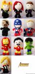 The Avengers Dolls! by Nissie