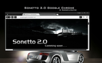 Sonetto 2.0 Google Chrome by burnsplayguitar