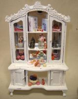 Shabby chic cupboard by Fairiesworkshop