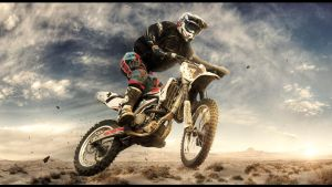 Motocross wallpaper by D-BH