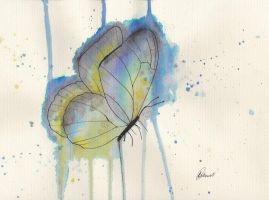 Abstract Butterfly by Wassocko