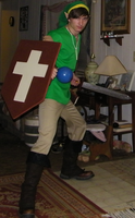 NES Link by Crowbariswin