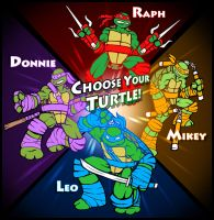 Turtles Arcade by AIBryce