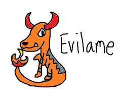 Evilame drawing by Isakaru