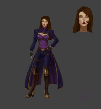 LoL Caitlyn Redesign by Xelandra