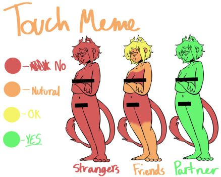 Touch Meme - Emory by King-Yeti