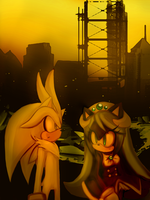 silver and mana out the city by Gabriel-black-cat