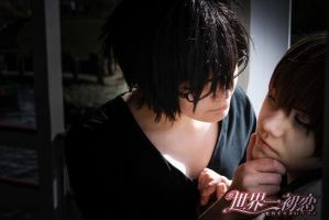 Sekaiichi Hatsukoi Feel in love with Ritsu by ShadowFox-Cosplay