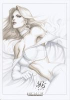 Emma Frost Original 1 by Artgerm