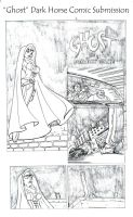 Pg 2 of Ghost comic by LuisEscobar