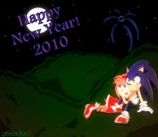 Happy New Year Sonamy by ForestRose7