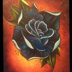 neo traditional rose by yessica83