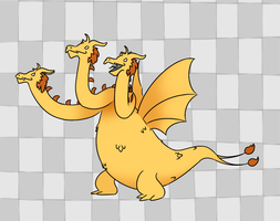 King Ghidorah by Soap9000