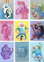 Adventure Time Sketch Cards by LEXLOTHOR