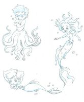 Merpeople Request from Anna by Chrissyissypoo19