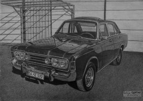 1969 Ford Taunus 26M by orhano