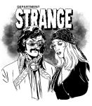 Stephen and Clea of Dept STRANGE by MarcLaming